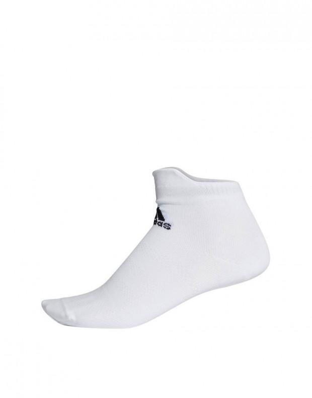 ADIDAS Alphaskin Ultralight Ankle Socks White