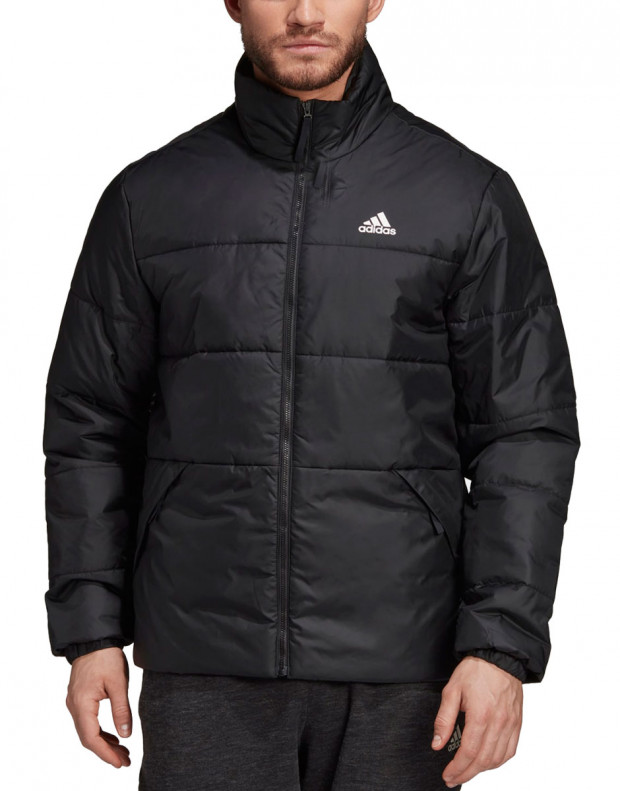 ADIDAS BSC 3-Stripes Insulated Winter Jacket Black