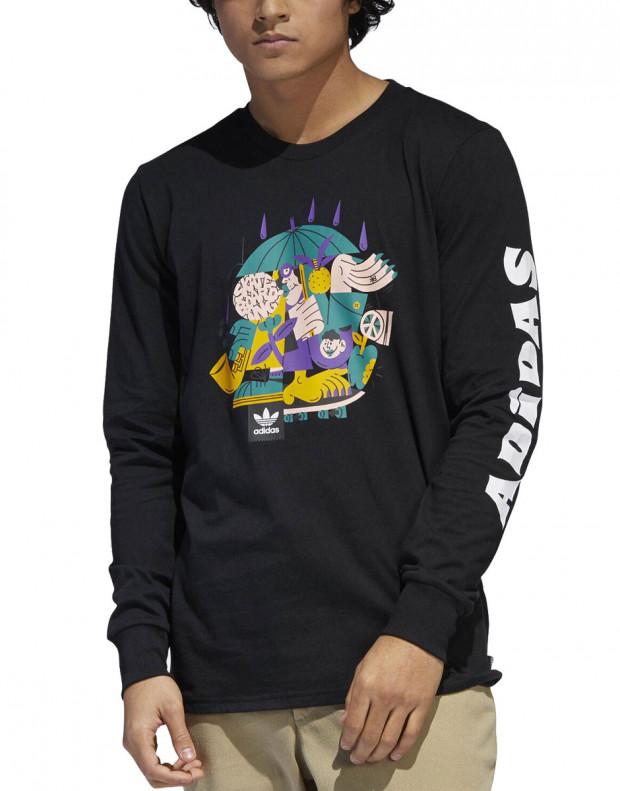 ADIDAS Eastham Longsleeve T-Shirt Black