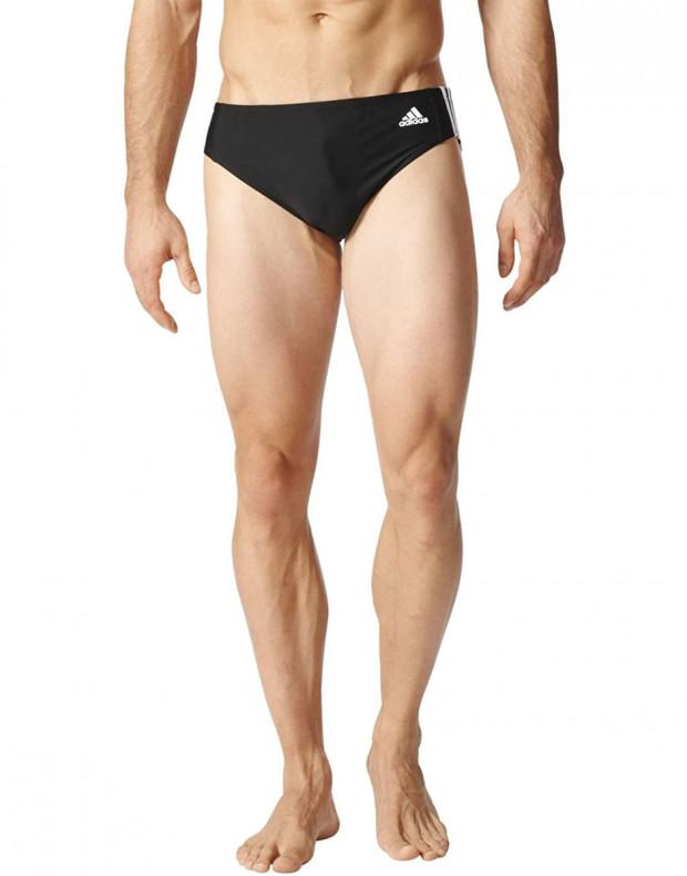 ADIDAS Fitness 3-Stripes Swim Trunks Black