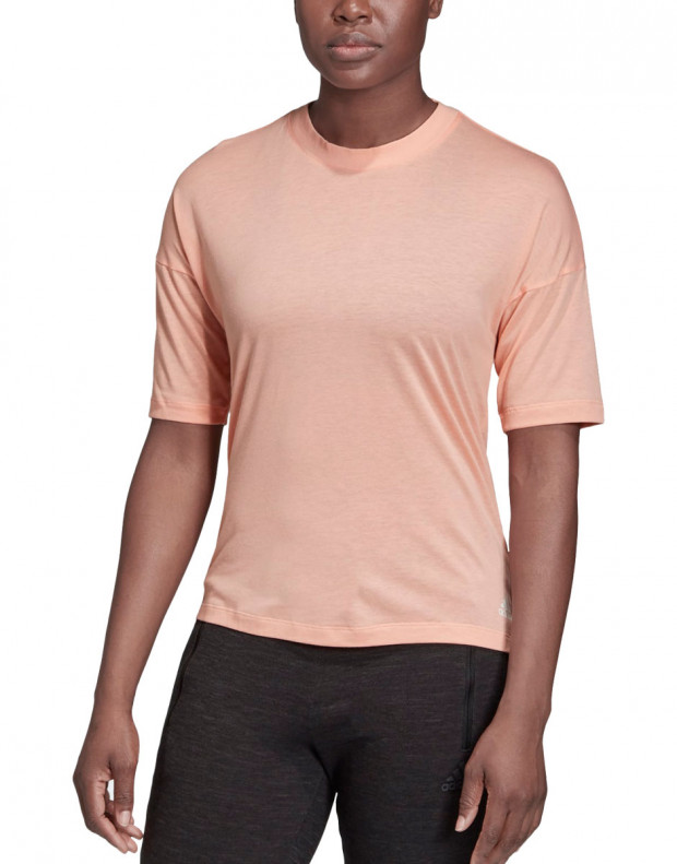 ADIDAS Must Haves 3-Stripes Tee Pink