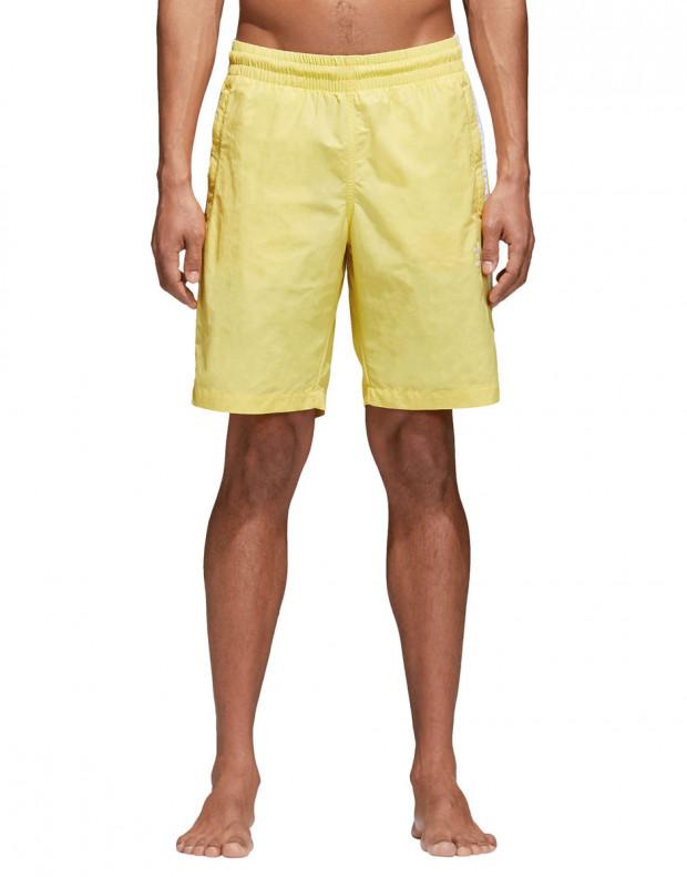 ADIDAS Originals 3-Stripes Shorts Yellow