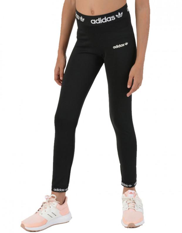ADIDAS Originals Trefoil Logo Leggings Black