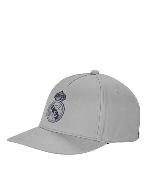 ADIDAS Real Madrid Cap Solid Grey
