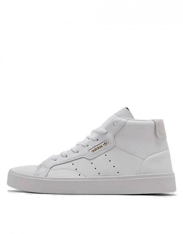 ADIDAS Sleek Mid White