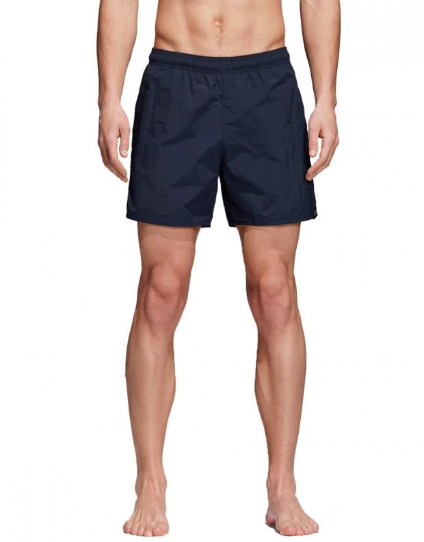 ADIDAS Solid Shorts Navy