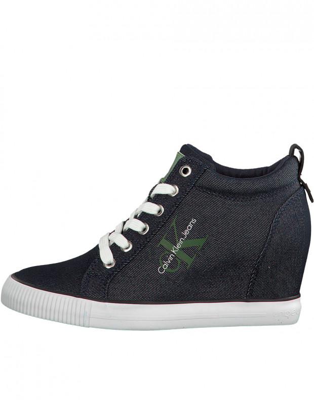 CALVIN KLEIN Ritzy Denim Sneakers Indigo