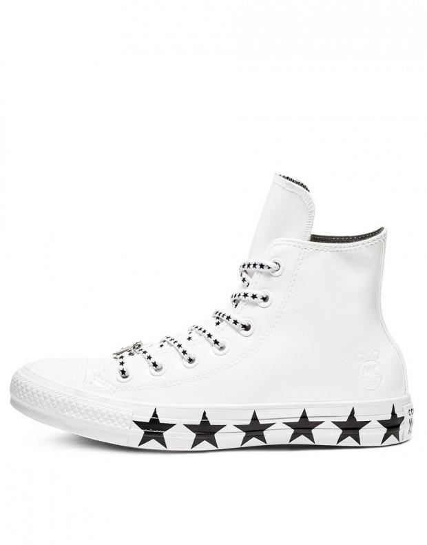 CONVERSE x Miley Cyrus Chuck Taylor All Star Ox Hi White