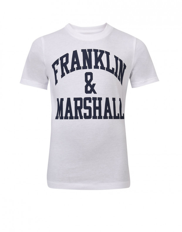 FRANKLIN AND MARSHALL CF Logo Tee Bright