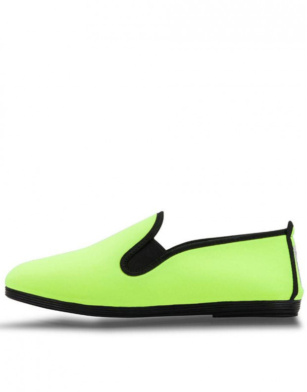 FLOSSY Slip On Neon Green