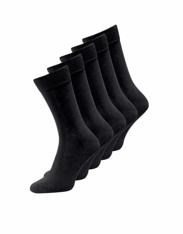 JACK&JONES 5-Pack Classic Socks All Black