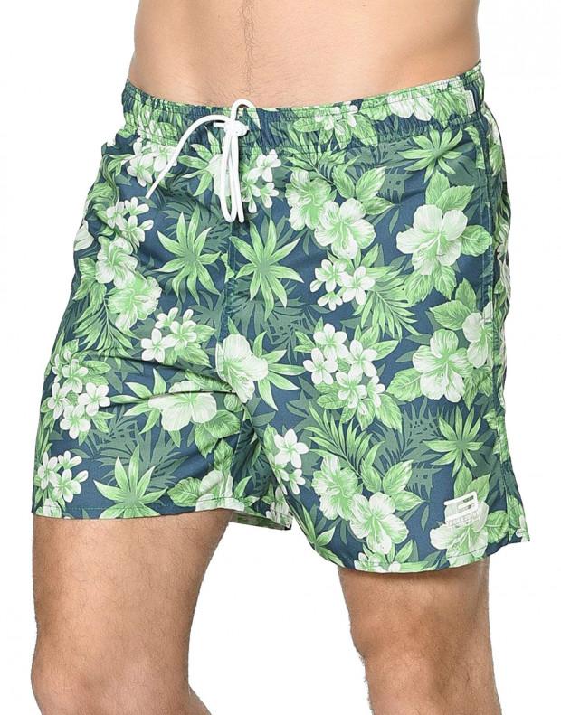 JACK&JONES Tropic Plant Shorts Green