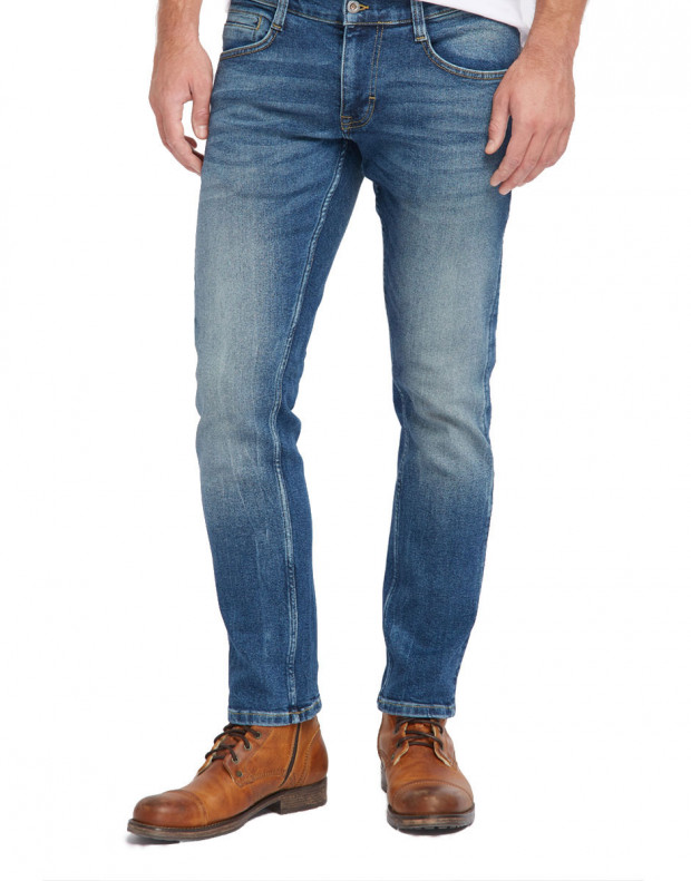 MUSTANG Oregon Tapered Jeans Blue