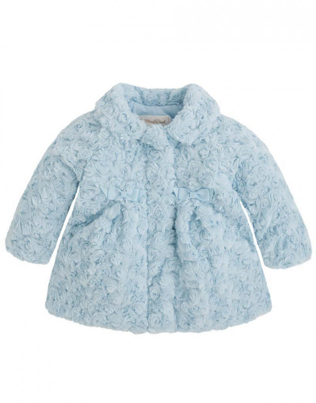 MAYORAL Bluebell Coat Blue