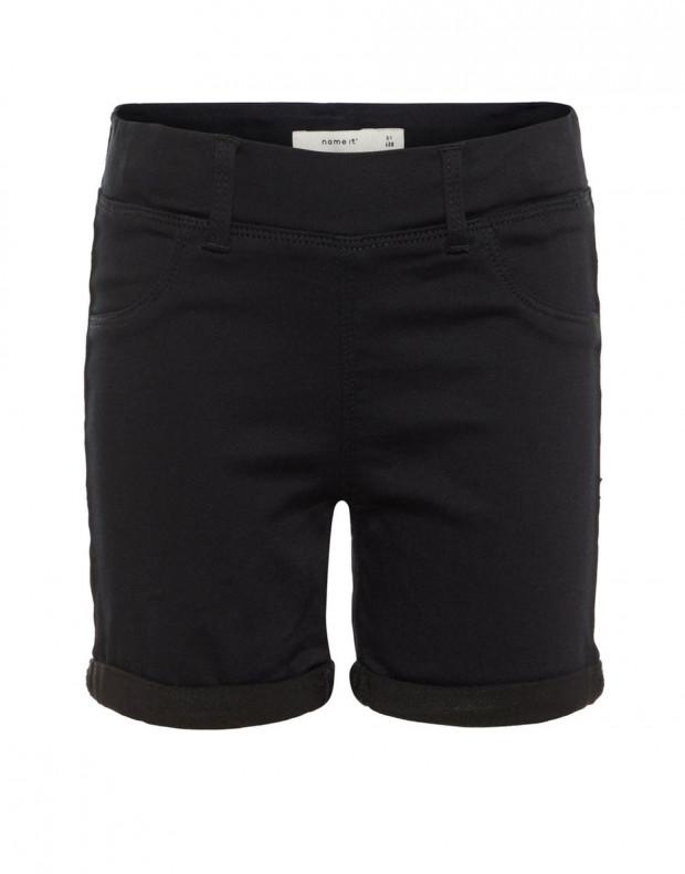 NAME IT Slim Fit Shorts Black