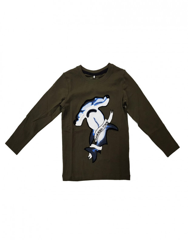 NAME IT Anchor Sweat Forest
