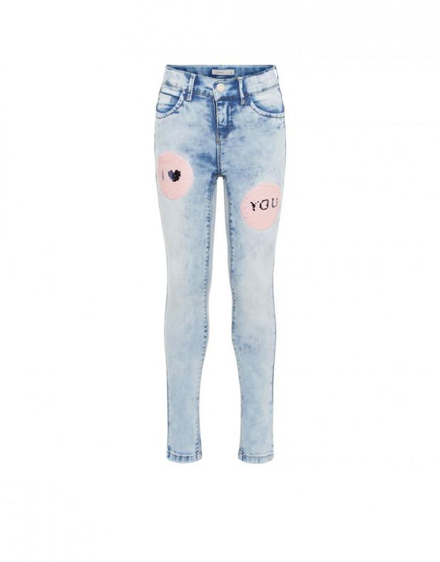 NAME IT Flip Sequin Skinny Fit Jeans