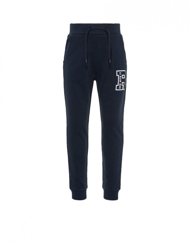 NAME IT Mini Cotton Sweat Pants Navy