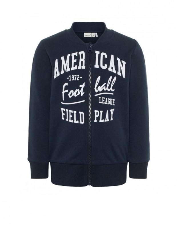 NAME IT Mini Cotton Sweatshirt Navy