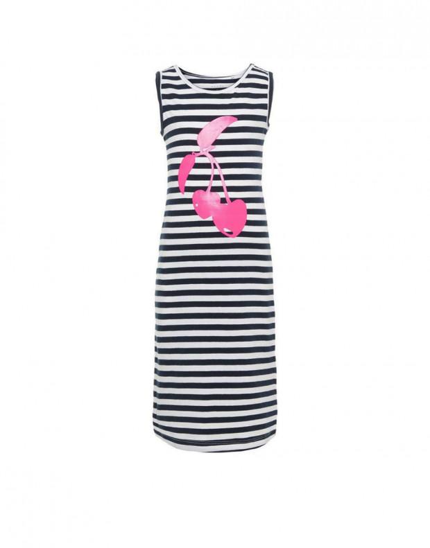 NAME IT Printed Maxi Dress White Cherry