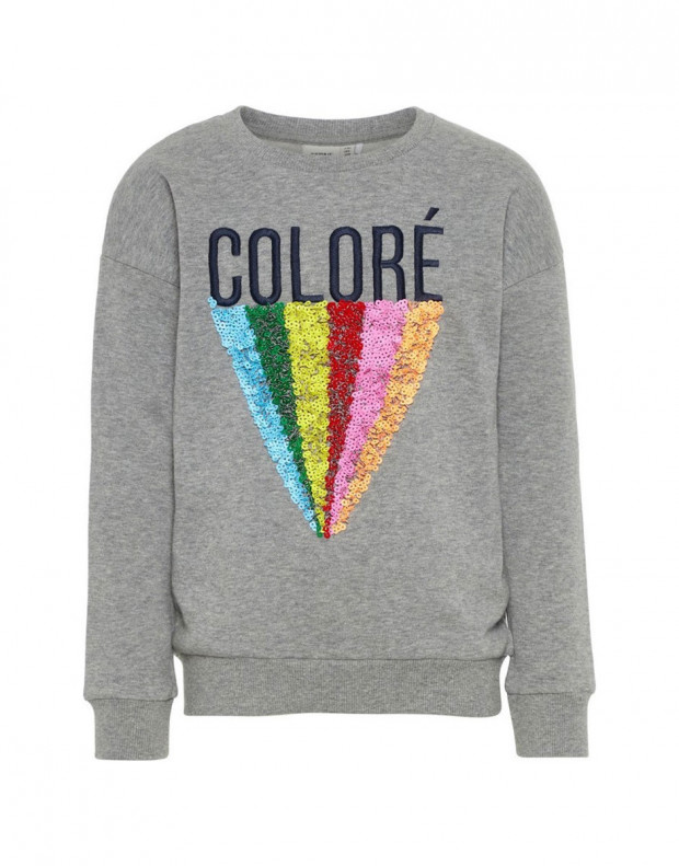 NAME IT Sequid Sweatshirt Grey
