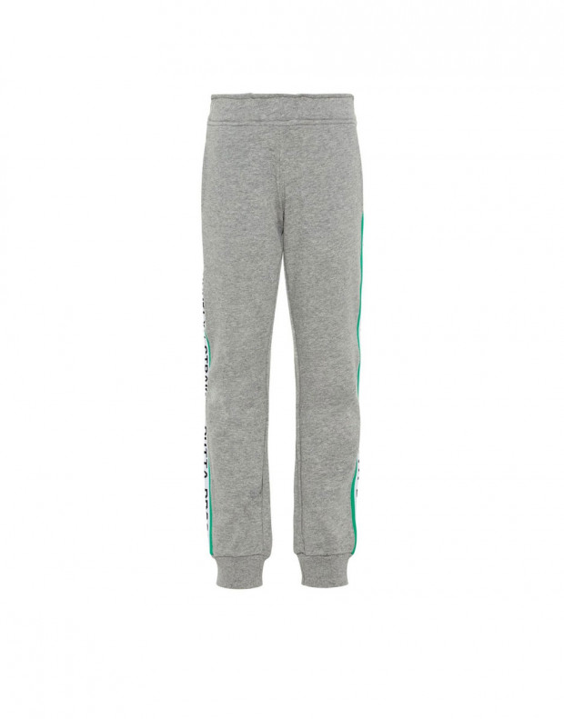 NAME IT Side Stripe Sweat Pants Grey