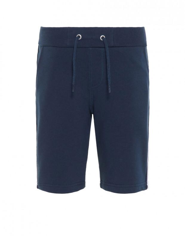 NAME IT Side Stripe Sweat Shorts Navy