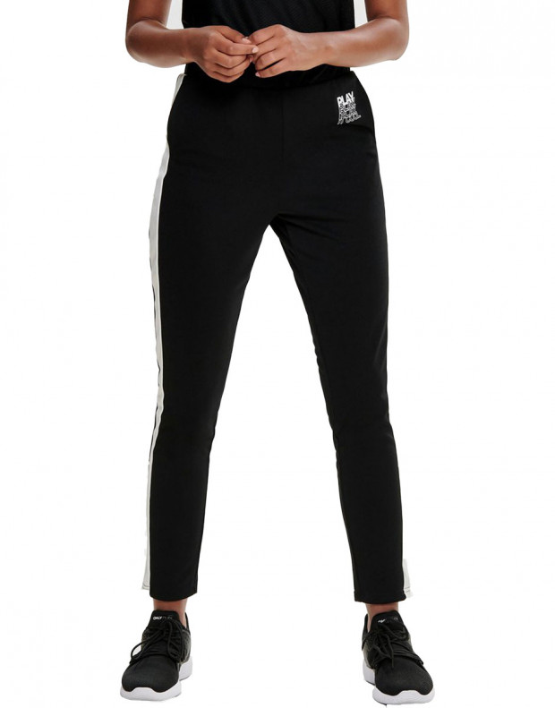 ONLY Contrast Sweatpants Black