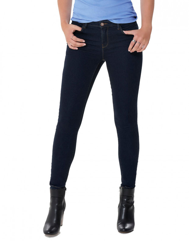 ONLY Daisy Push Up Ancle Skinny Fit Jeans Blue