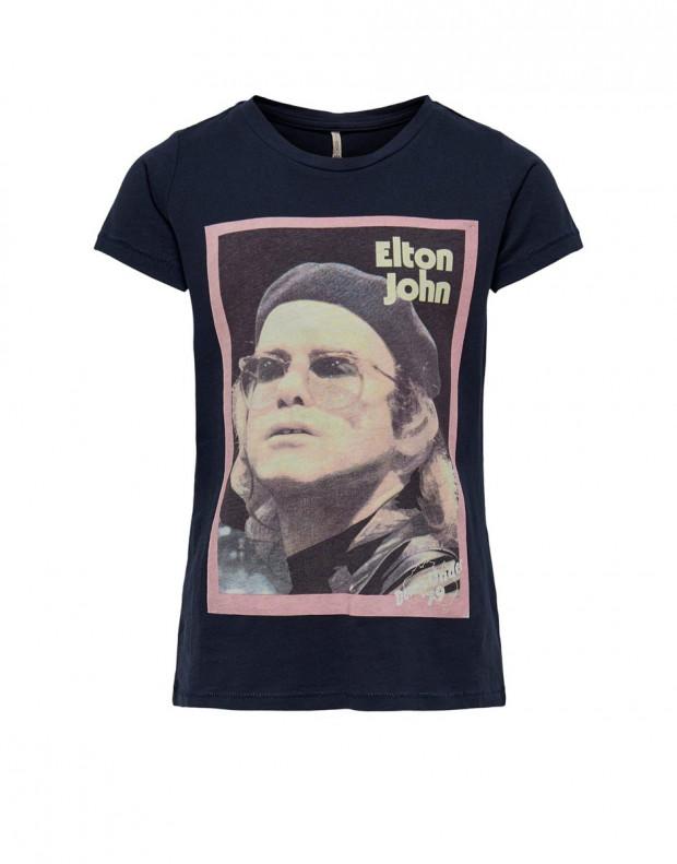 ONLY Elton John Printed Tee Navy