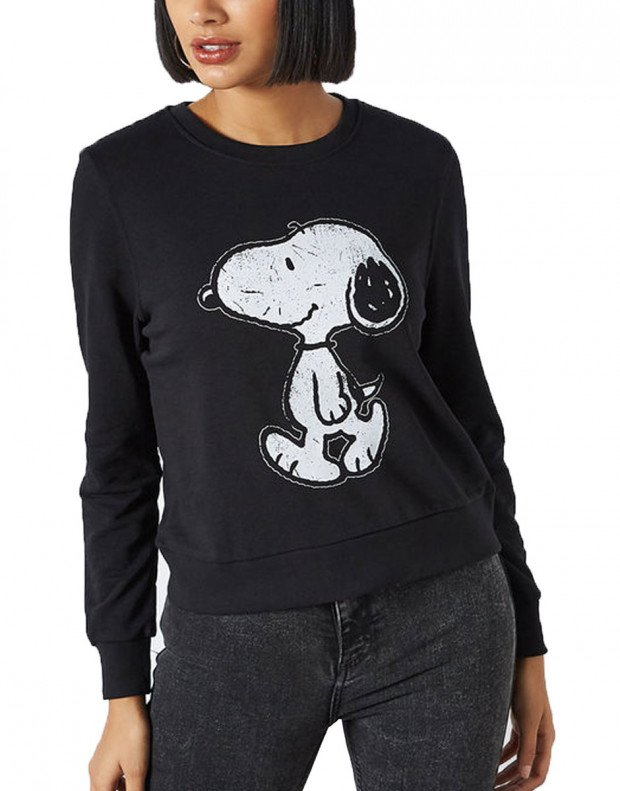 ONLY Peanuts  Blouse Black