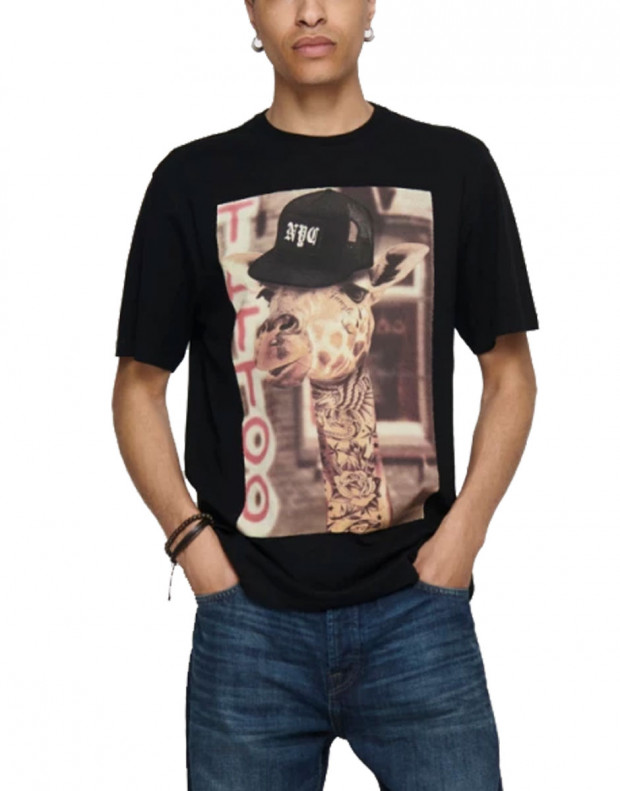 ONLY&SONS Funno Tee Black