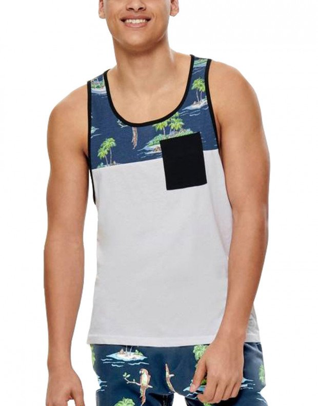 ONLY&SONS Lee Pocket Tank Parrot