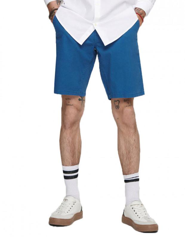 ONLY&SONS Slim Chino Shorts Dark Blue