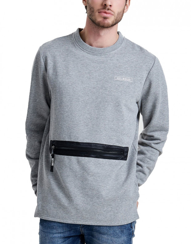 ONLY&SONS Tobi Pocket Sweatshirt Grey