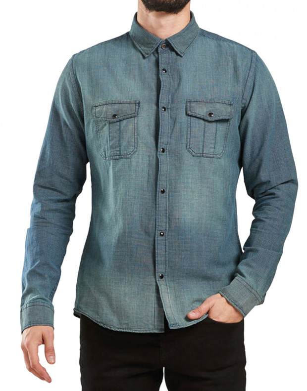 ONLY&SONS Vitak Shirt Noos Denim