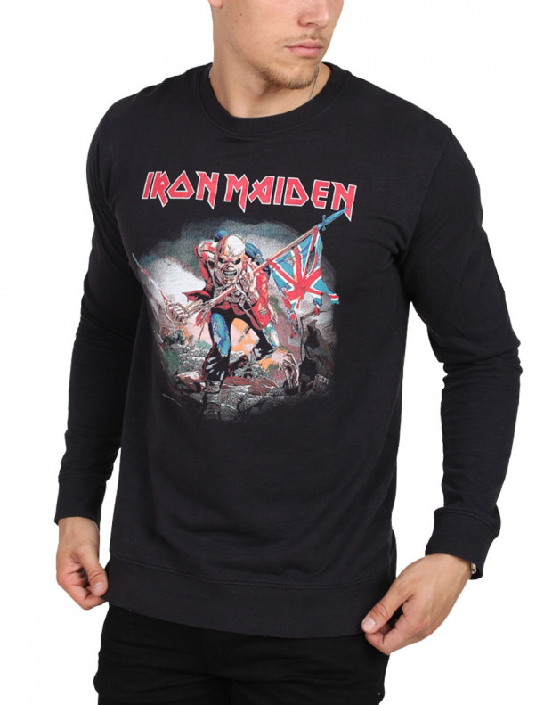 ONLY&SONS Iron Maiden Crew Neck Sweat Black