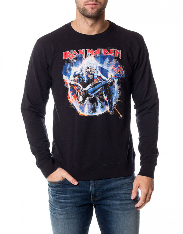 ONLY&SONS Iron Maiden Crew Neck Night Sky