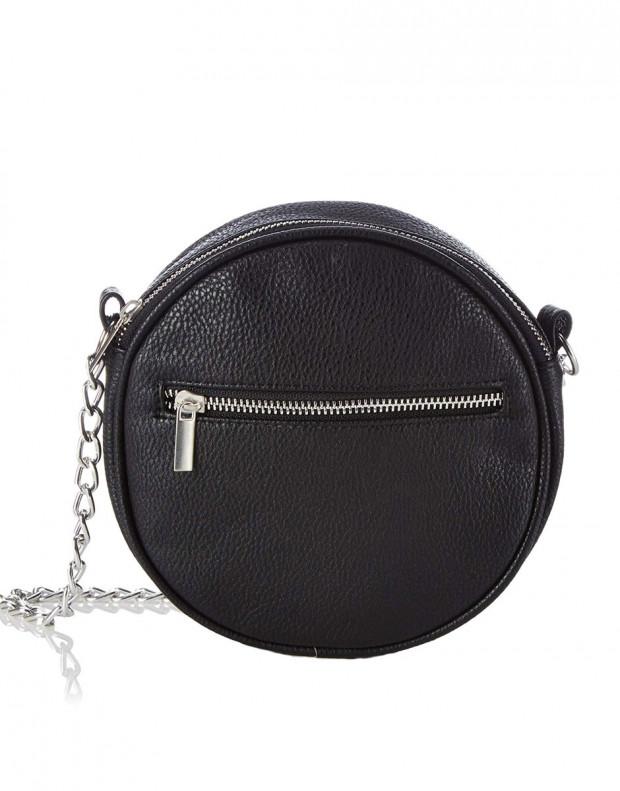 PIECES Cross Over Bag Black
