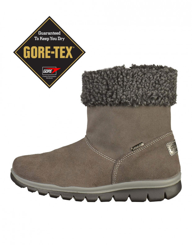 PRIMIGI Fluffy Gore-Tex Boots Anthra