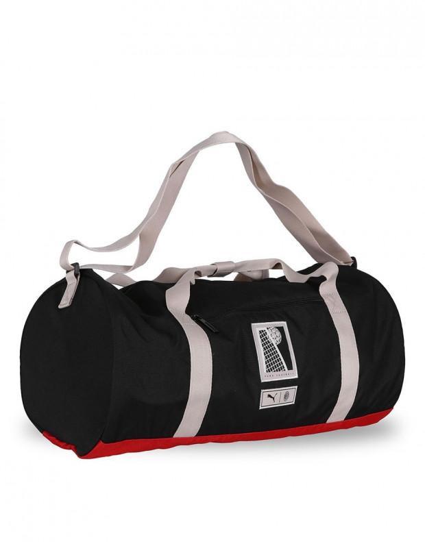PUMA AC Milan Premium Barrel Bag Black