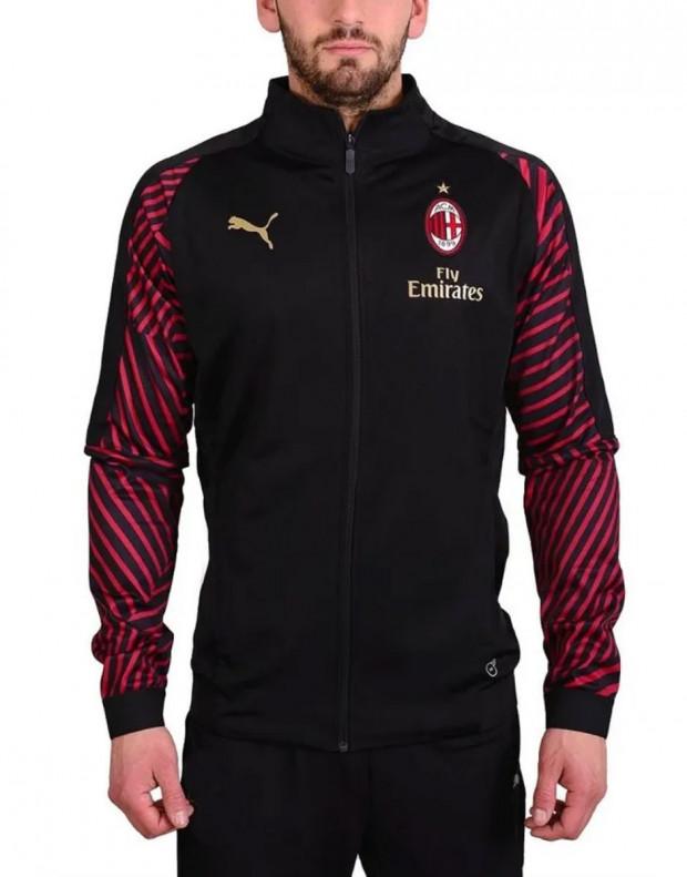 PUMA Ac Milan Stadium Jacket Black