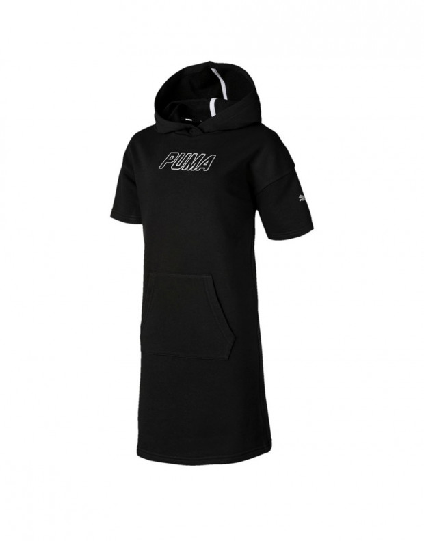 PUMA Alpha Hooded Dress Black
