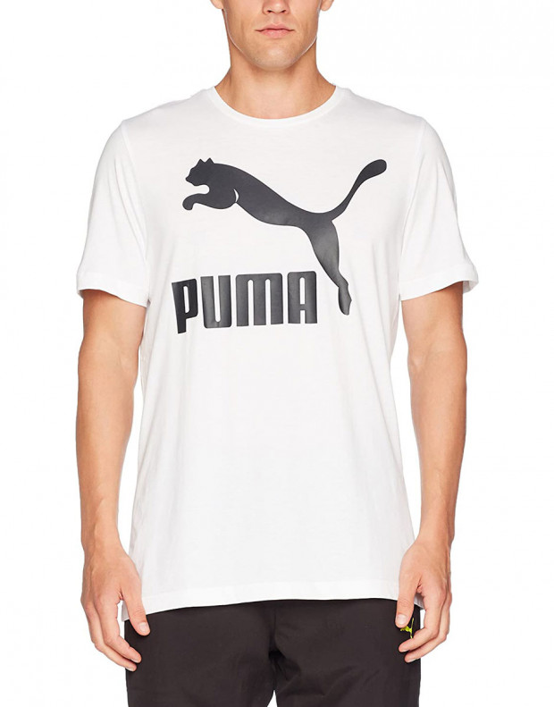 PUMA Archive Logo Print Tee White