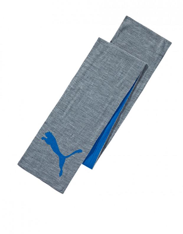 PUMA Big Knit Scarf Gray/Blue