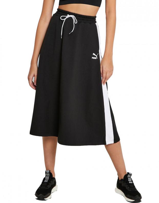 PUMA Classics Long Skirt Black