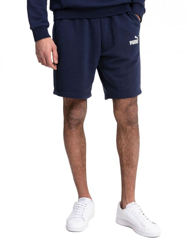 PUMA Essentials Sweat Shorts Navy