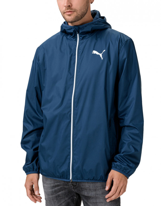 PUMA Essentials Solid Windbreaker Navy