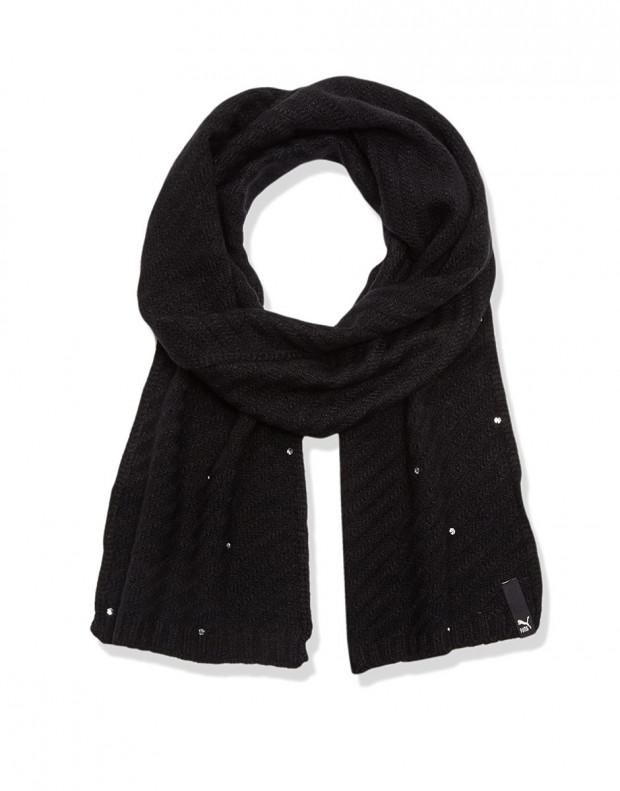 PUMA Jewel Knit Scarf Black