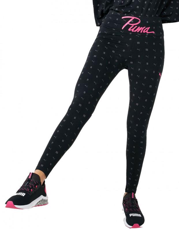 PUMA Logo Aop Pack Leggings Black